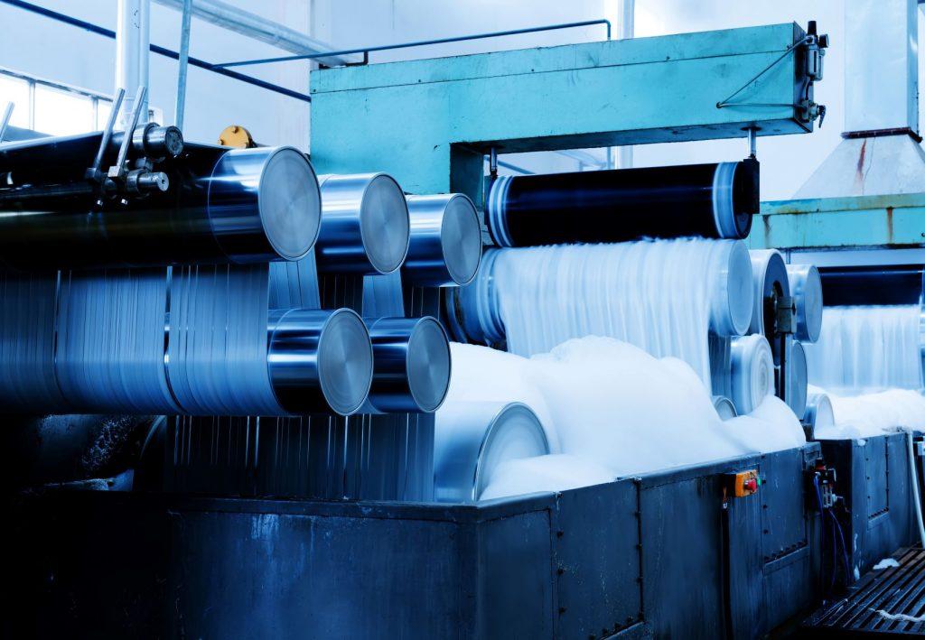 máquina hiladora de algodón